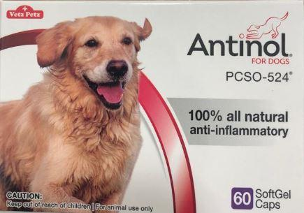 Antinol for Dogs 60 Soft Gelcaps