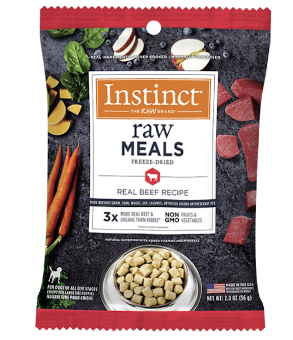 Freeze-Dried Raw Meal Grain-Free Beef Recipe for Dogs
